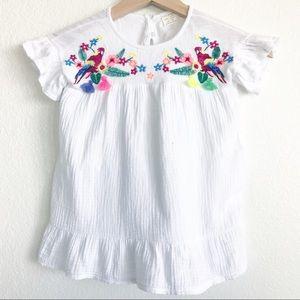 ZARA Girls Embroidered Dress